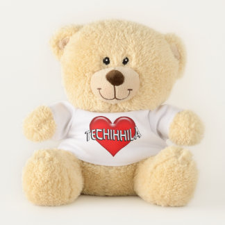 Sioux Techihhila I Love You Red Heart Teddy Bear