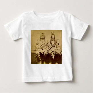 Sioux War Council Vintage Stereoview Baby T-Shirt