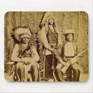 Sioux War Council Vintage Stereoview Mouse Pad