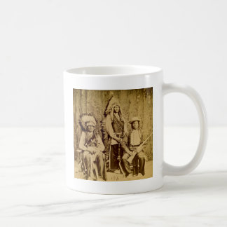 Sioux War Council Vintage Stereoview Mugs