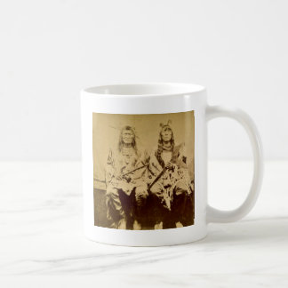Sioux War Council Vintage Stereoview Coffee Mug