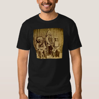 Sioux War Council Vintage Stereoview Tees