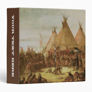 Sioux War Council Vinyl Binders