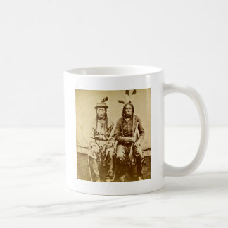 Sioux Warriors with Repeating Rifles Vintage Mug