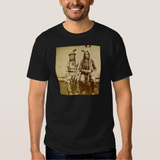 Sioux Warriors with Repeating Rifles Vintage T Shirt
