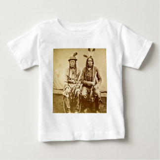 Sioux Warriors with Repeating Rifles Vintage T-shirts