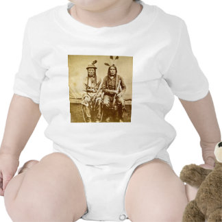 Sioux Warriors with Repeating Rifles Vintage Bodysuit
