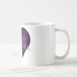 Siouxsie Homemaker Knitting (Violet) Coffee Mug