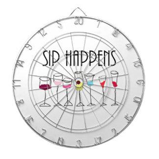 SIP HAPPENS DARTBOARD