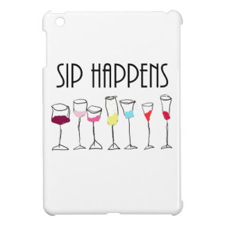 SIP HAPPENS iPad MINI CASE
