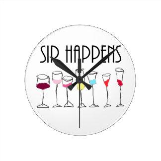 SIP HAPPENS ROUND CLOCK
