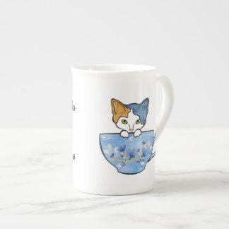 Sip Tea and Pet My Cat China Mug