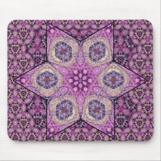 Siphonophorae Star - Purple Mouse Pad