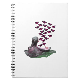 Sipping on Sunshine Spiral Notebook