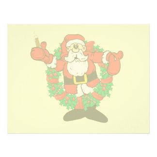 Sipping Santa Letterhead
