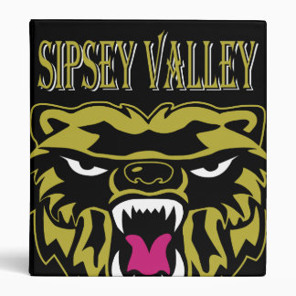 "Sipsey Valley Bear2 1"" binder"