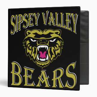 "Sipsey Valley Bear 1.5"" binder"