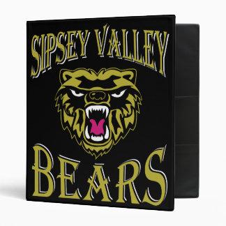 "Sipsey Valley Bear 1"" binder"