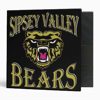"Sipsey Valley Bear 2"" binder"