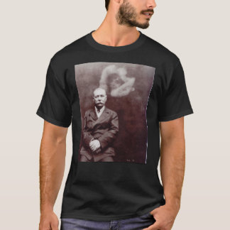 Sir Arthur Conan Doyle with Ghost by Ada Deane T-Shirt