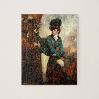 Sir Banastre Tarleton by Joshua Reynolds Jigsaw Puzzle