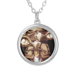 SIR BAPTIST SILVER PLATED NECKLACE