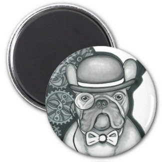 Sir Bouledogue 2 Inch Round Magnet