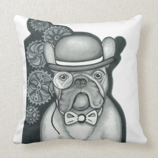 Sir Bouledogue Pillow