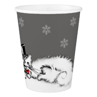 Sir Cat Paper Cup