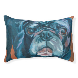 Sir Duke the Pug Dog Bed Small Dog Bed