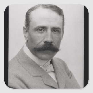 Sir Edward Elgar (1857-1934) (photo) Square Sticker