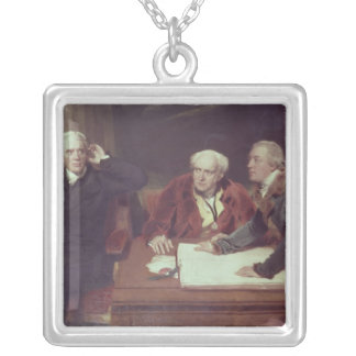 Sir Francis Baring Silver Plated Necklace