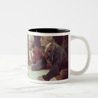 Sir Francis Baring Two-Tone Coffee Mug