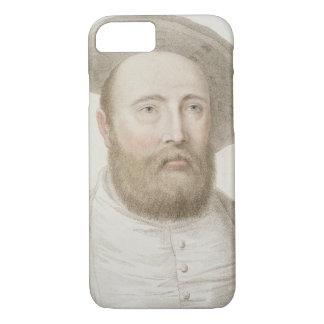 Sir George Carew (b.c.1514) engraved by Francesco iPhone 7 Case
