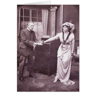Sir Gerald du Maurier & Miss Ellis Jeffreys Card