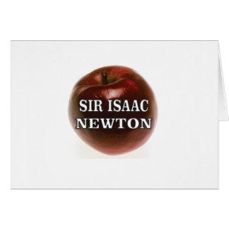 sir isaac newton apple card