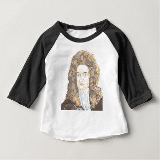 Sir Isaac Newton Baby T-Shirt
