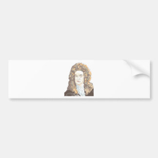 Sir Isaac Newton Bumper Sticker