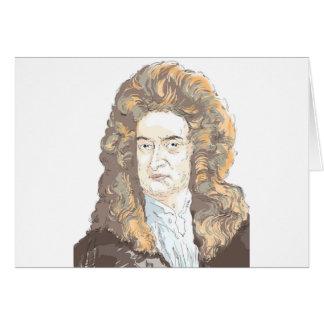 Sir Isaac Newton Card