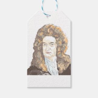 Sir Isaac Newton Gift Tags