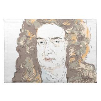 Sir Isaac Newton Placemat