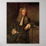Sir Isaac Newton Poster