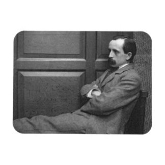 Sir James Matthew Barrie (1860-1937) (b/w photo) Rectangular Photo Magnet