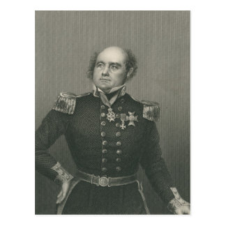 Sir John Franklin Postcard