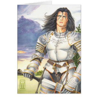 Sir Lancelot greeting card