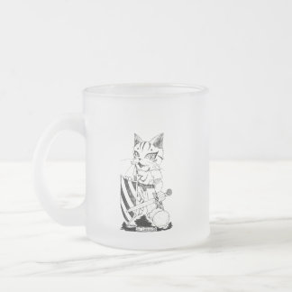"Sir Lancelot ""Troupe Camelot"" (lance lot Frosted Glass Coffee Mug"