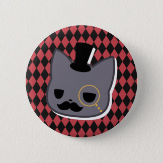 Sir Mittens 2 Inch Round Button