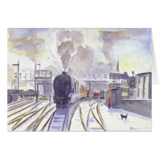 Sir Nigel Gresley Christmas card