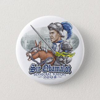 Sir Obamalot Obama 2008 Gear 2 Inch Round Button