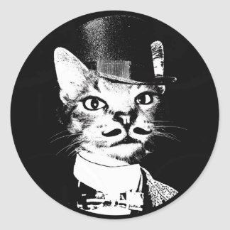 Sir Oswin Cat Sticker